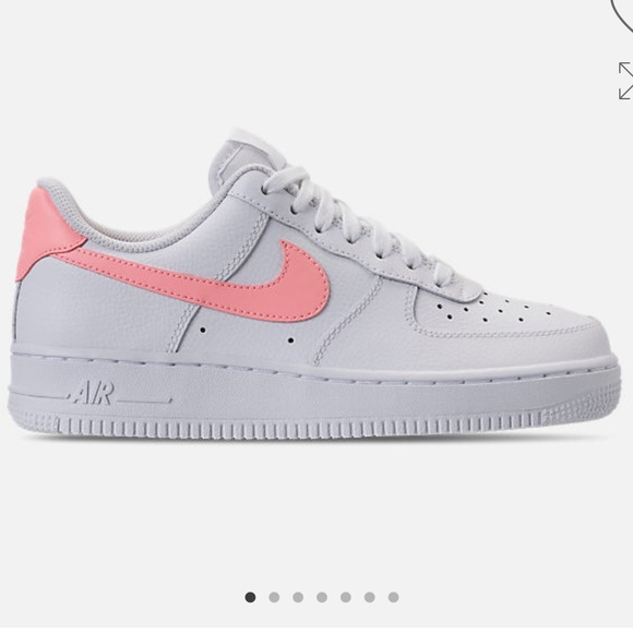NIKE AIR FORCE 1 '07 SNEAKER WHITE & ORACLE PINK